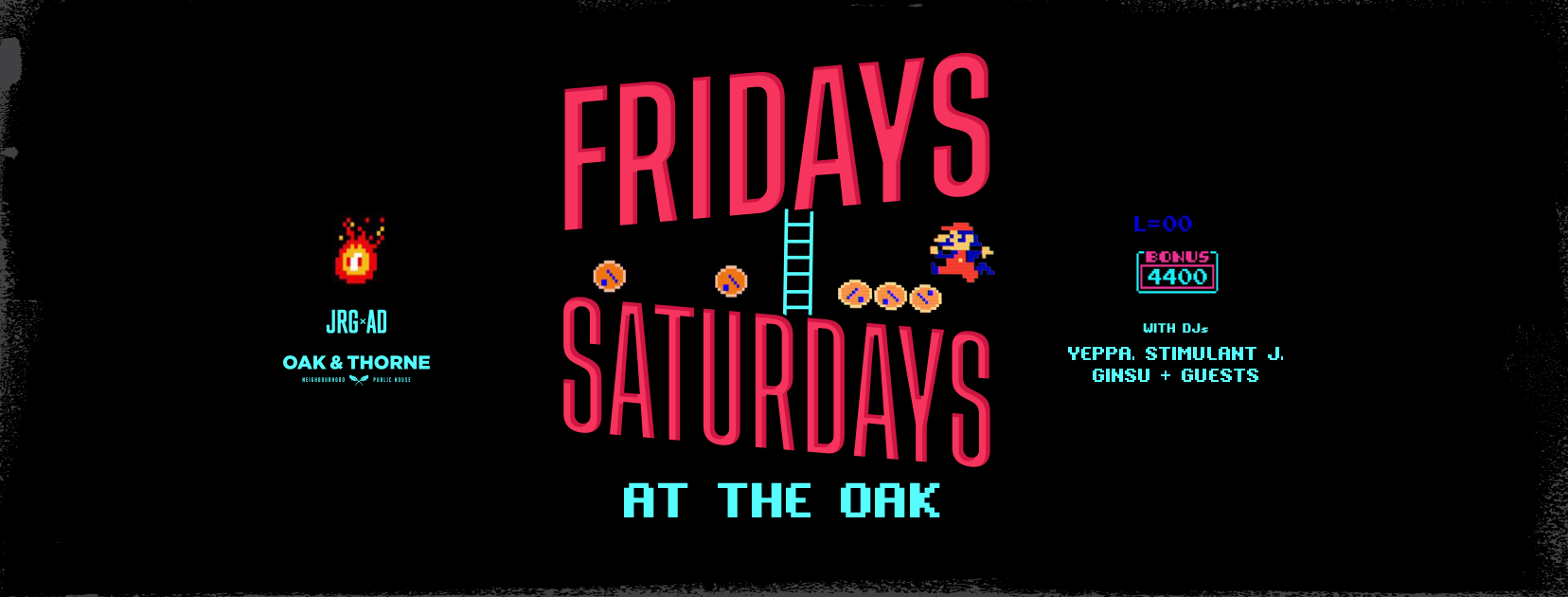 Fridays Saturdays at The Oak